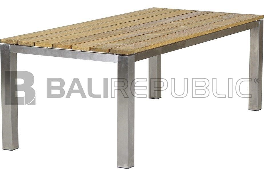1 x Luxurious ULUWATU 6-8 Seat Outdoor Dining Table by Bali Republic