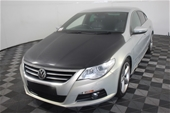 Unreserved 2008 Volkswagen Passat CC V6 FSI 3CC AT Coupe