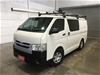 2014 Toyota Hiace LWB KDH201R Turbo Diesel Automatic Van