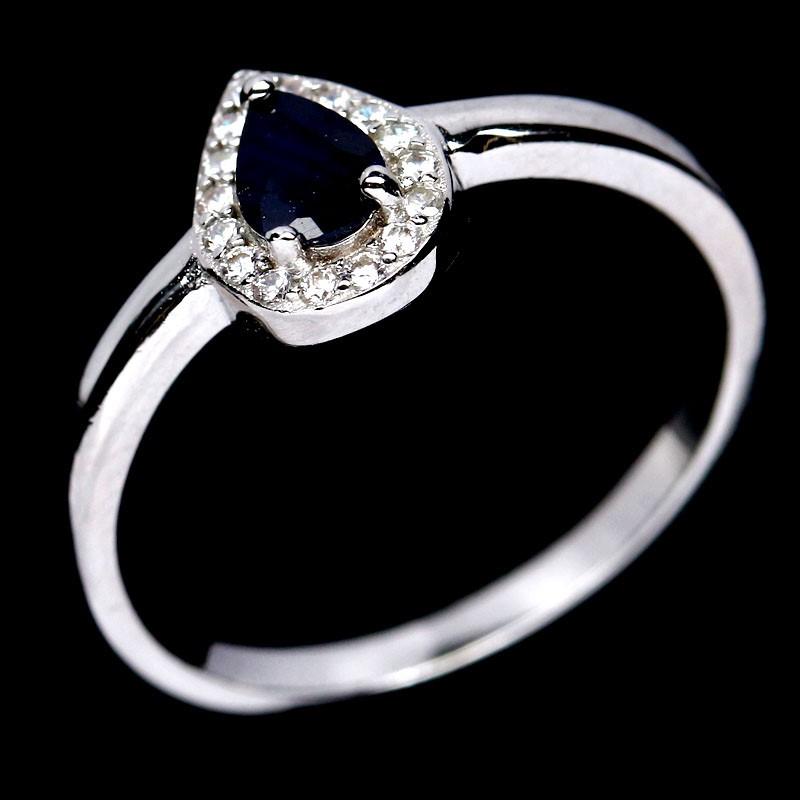 Delightful Genuine Sapphire Ring