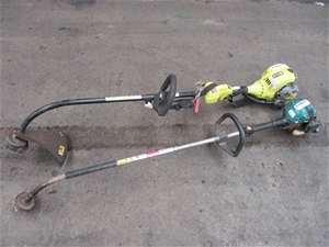 Qty 2 x Line Trimmers/ Whipper Snipper