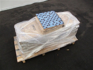 Pallet of Mosaic Tile