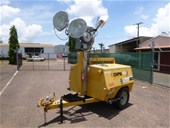 Unreserved Ex-Hire Equipment - Light Tower Trailers