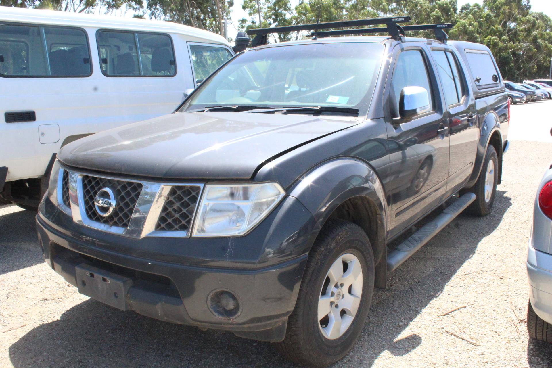 2008 Nissan Navara ST-X (4x4) D40 Turbo Diesel Automatic Dual Cab