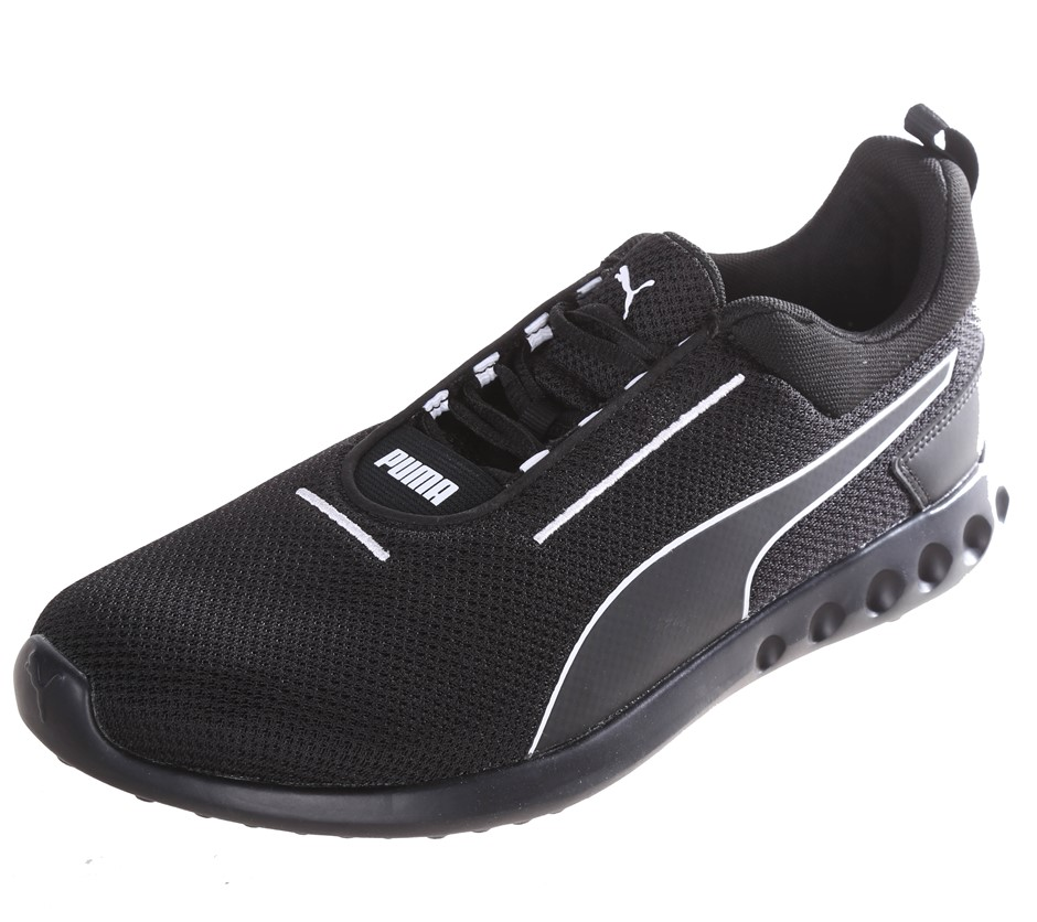PUMA Men`s Carson 2 Concave Shoes, Size UK 7.5, Black/White. Buyers Note -