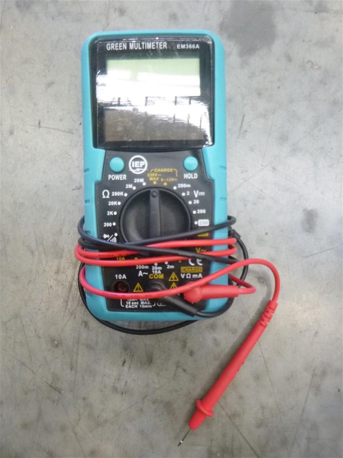 IEP EM366A 250V Digital Multimeter