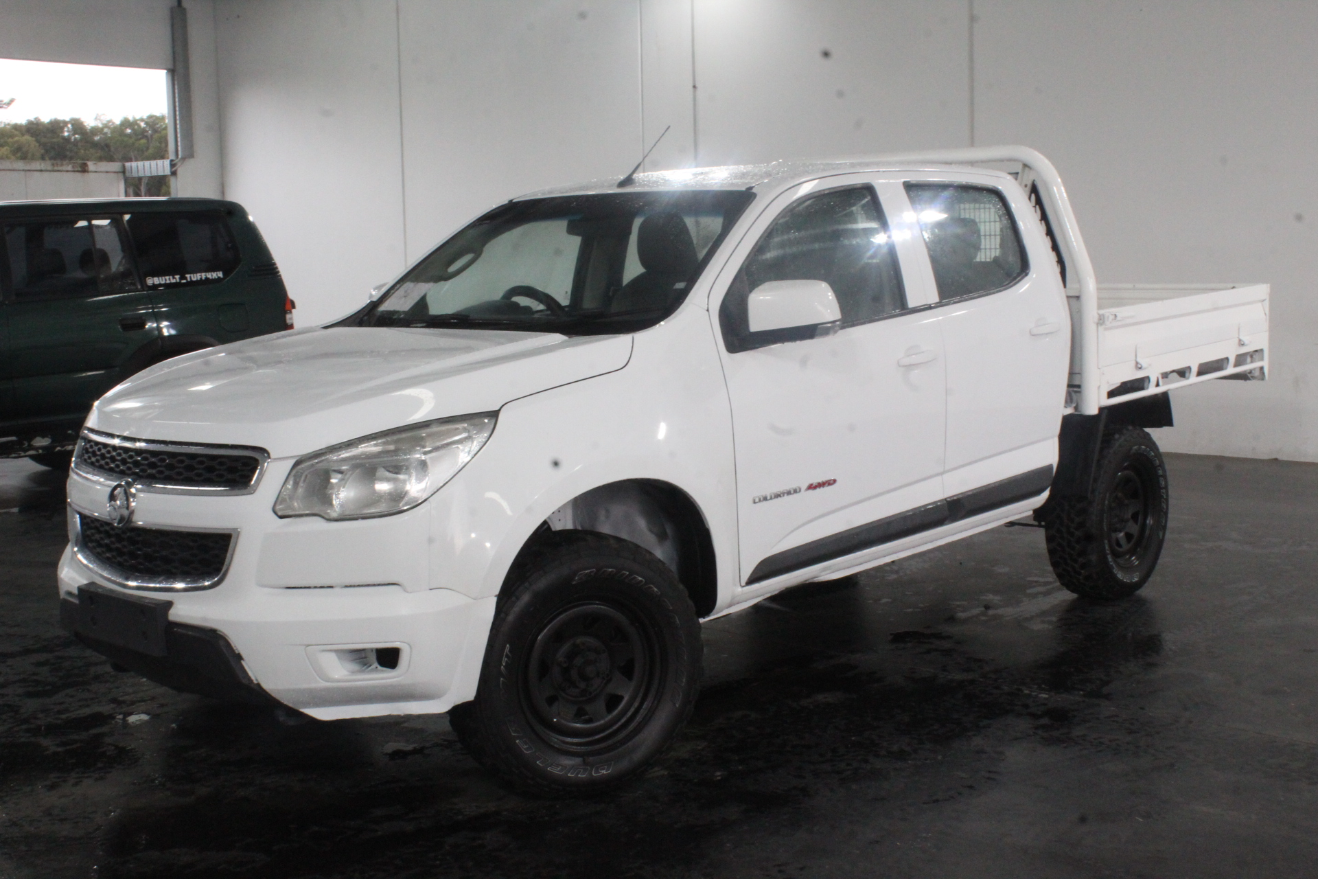 2016 Holden Colorado 4X4 LX RG Turbo Diesel Manual Crew Cab Chassis