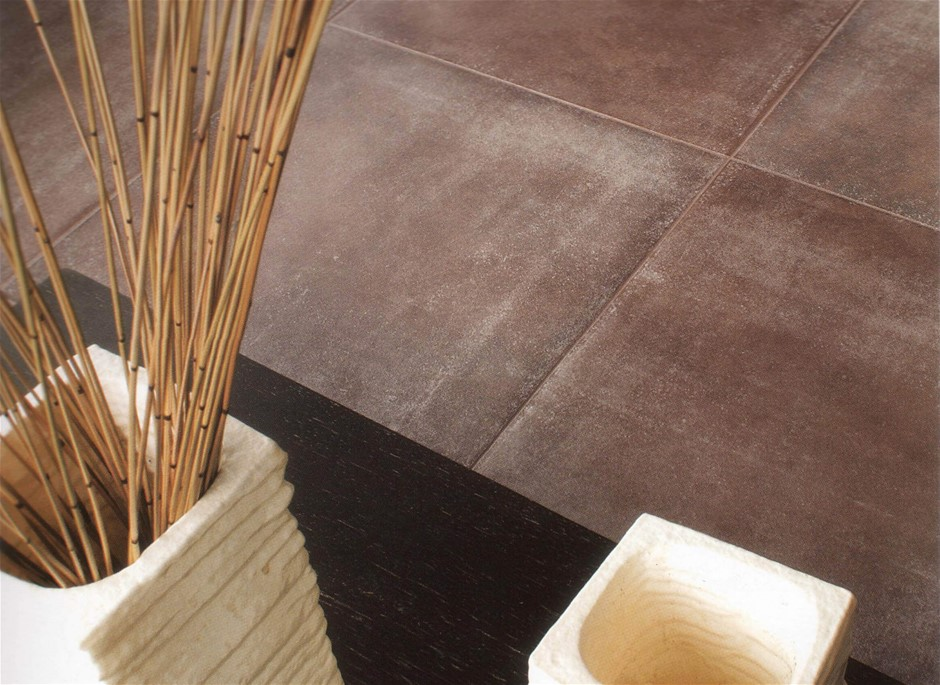 Loft Chocolate Porcelain Tiles (KOO596) 1 x Pallet of approximately 41.