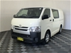 2015 Toyota Hiace LWB KDH201R Turbo Diesel Automatic Van