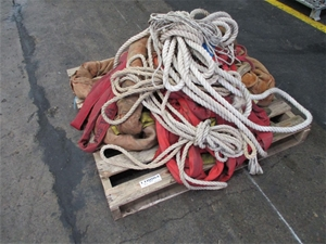 1 Pallet of Assorted Lifting Slings