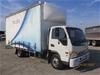 2012 White - Jac HFC Series Curtainsider Truck