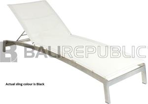 1 x Luxurious NUSA DUA Curved Sunlounger