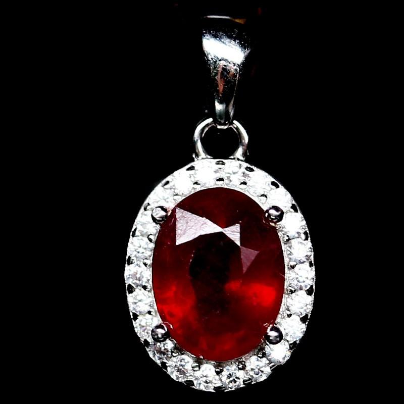 Stunning Genuine Ruby Pendant