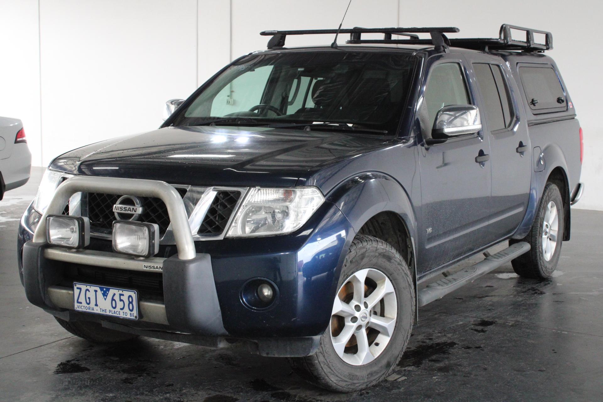 2012 Nissan Navara 4x4 ST-X550 D40 Turbo Diesel Automatic Dual Cab