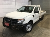 2013 Ford Ranger XL 4X2 PX Manual Cab Chassis