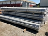 <p>Bundle of 7 x 6500mm x 150mm Galvanised Shouldered End Pipe Sections <l