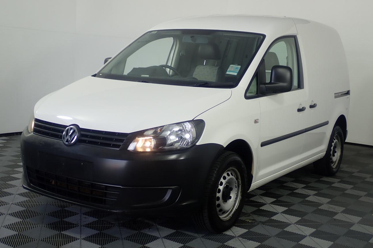 2013 Volkswagen Caddy TDI250 Turbo Diesel Manual Van