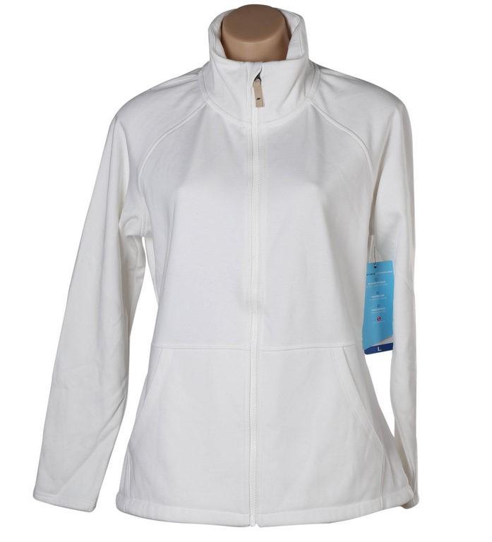 SKECHERS Women`s Go Walk Jacket, Size S, Brushed Lining, Cotton/Polyester,