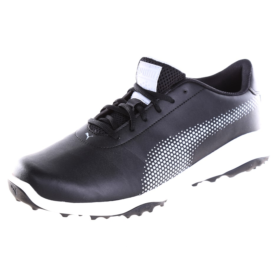 PUMA Men`s Fusion Tech Grip Sole Sport Shoes, UK Size 9, Black. Buyers Note