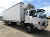 2007 Mitsubishi Fuso FN600 6 x 2 Refrigerated Body Truck