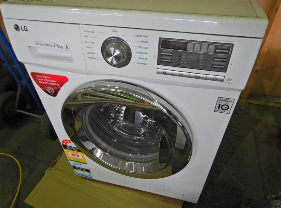 LG 7.5kg Front Load Washing Machine (WD14022D6)(Pooraka, SA)
