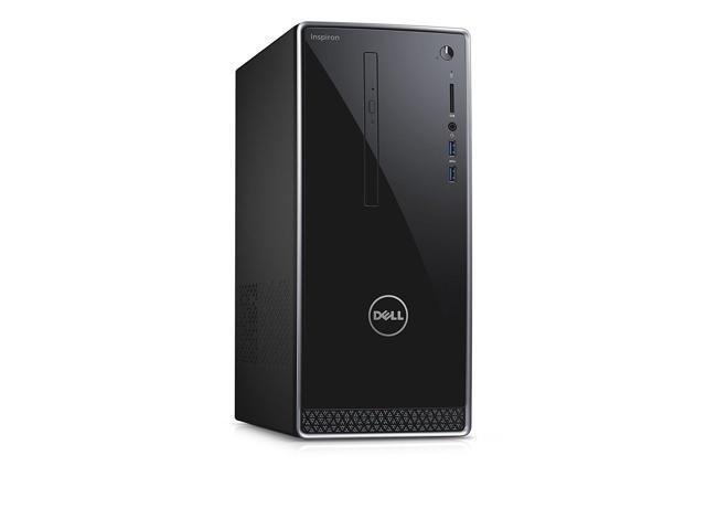 Dell Inspiron 3668 Mini Tower Desktop PC, Black
