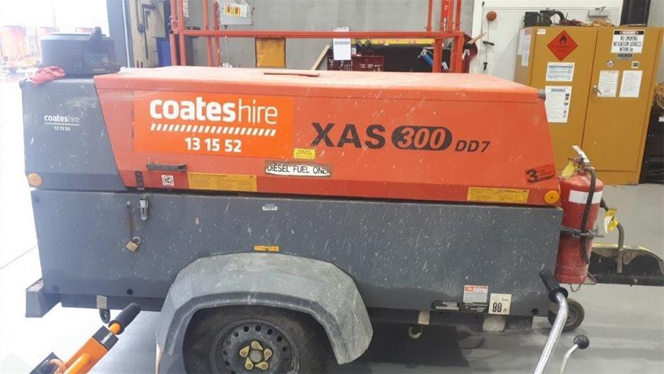 Compressor 269CFM (Diesel) - 2010 ATLAS COPCO XAS300