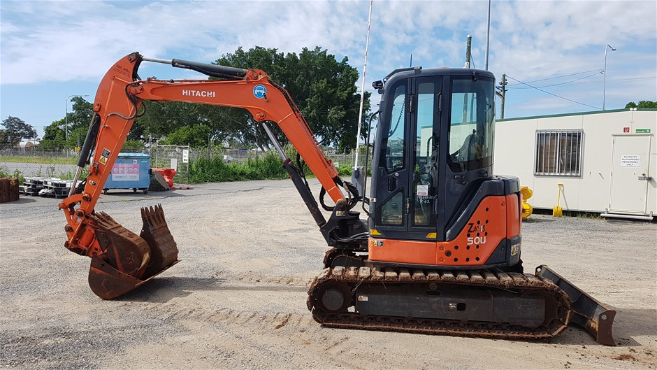 Hitachi ZX50U-2 Mini Excavator