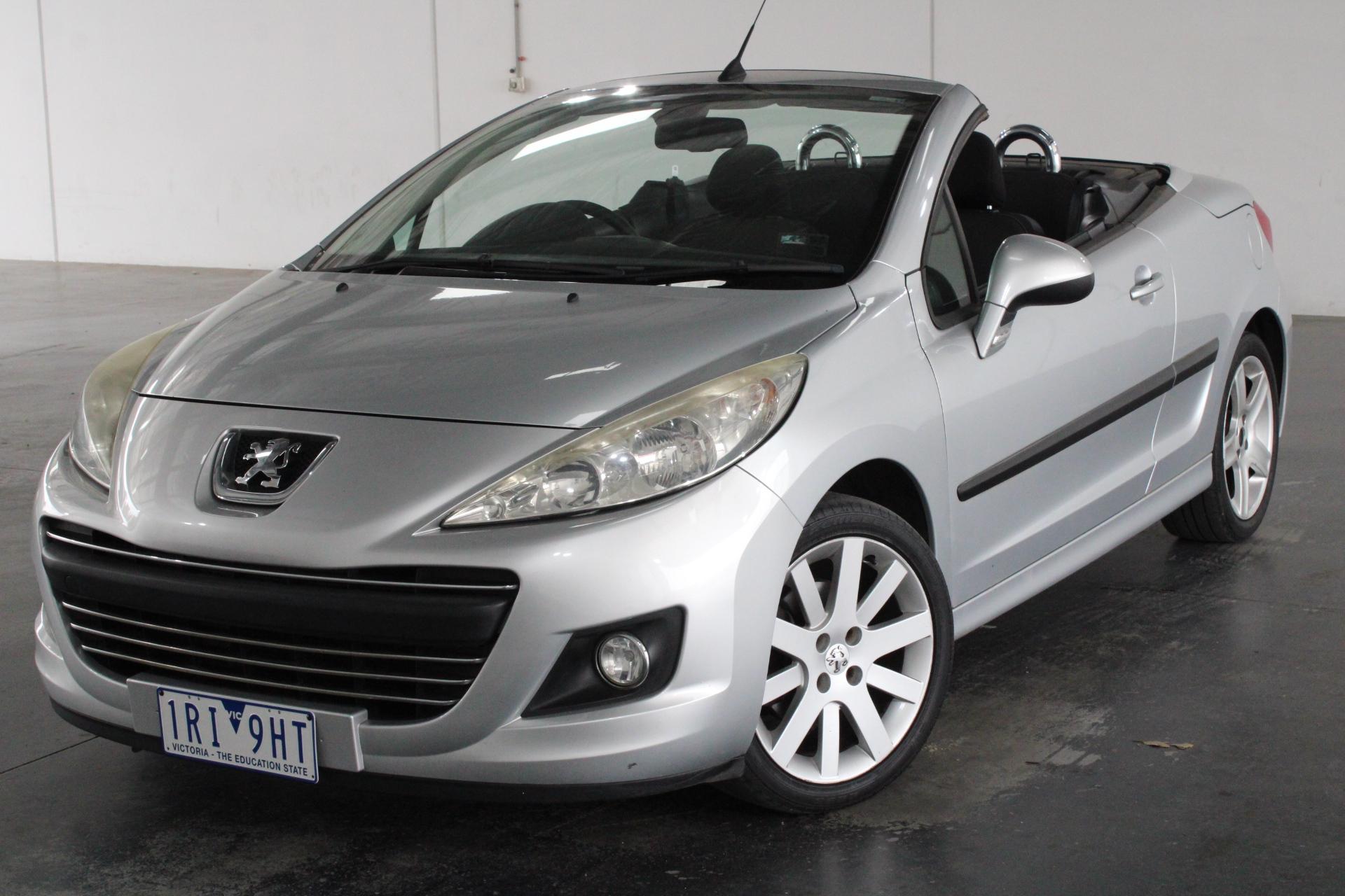 2010 Peugeot 207 CC 1.6 Automatic Convertible