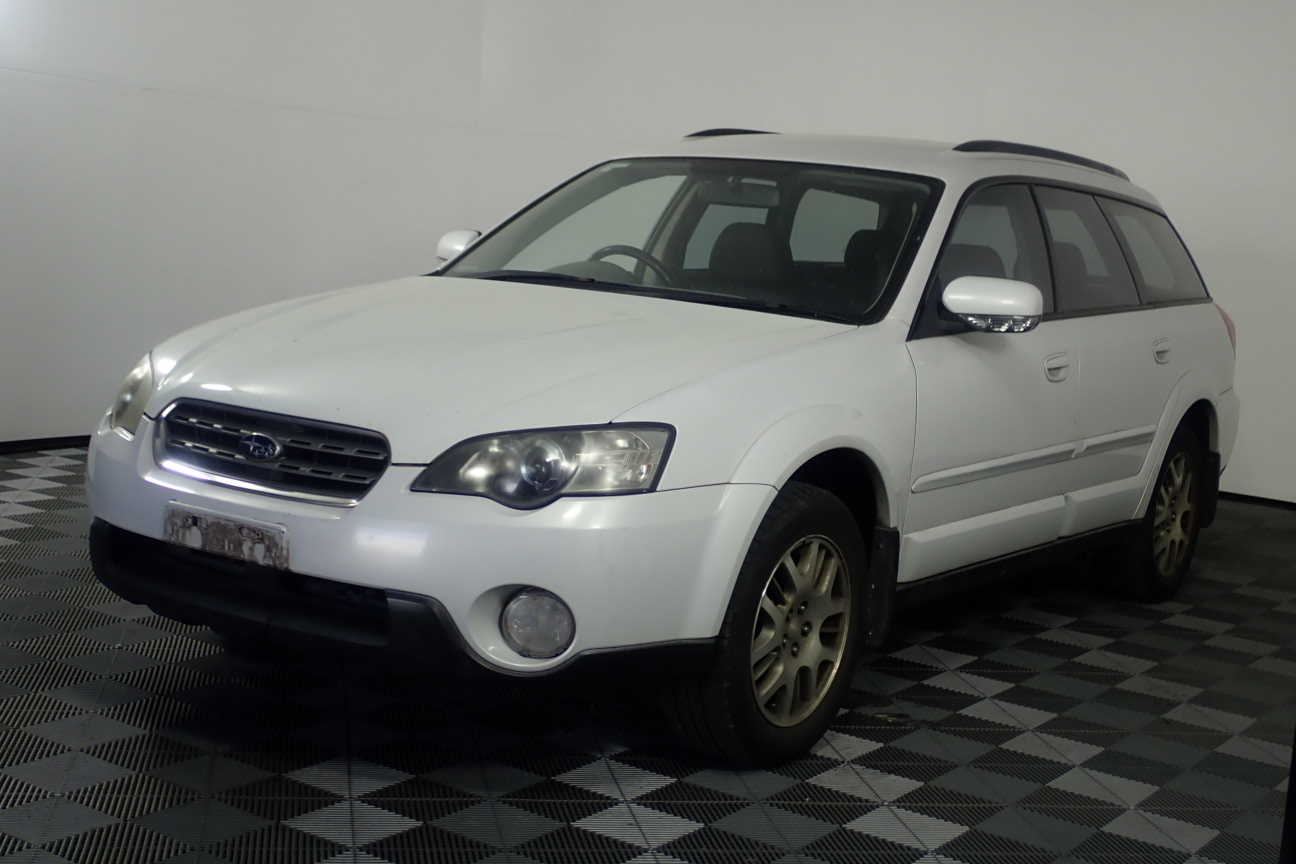2003 Subaru Outback 2.5i B4A Manual Wagon