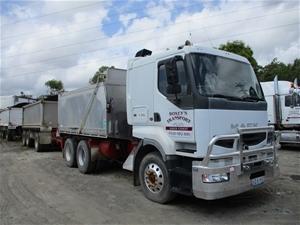 2002 Mack Quantum 6 x 4 Tipper Truck & 2