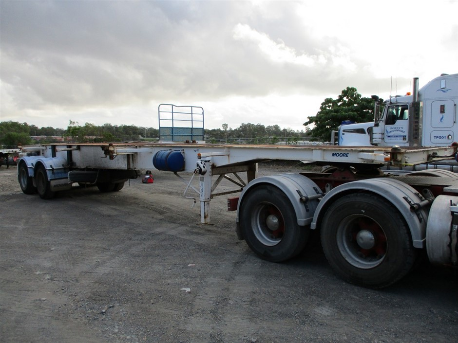 2006 Moore Trailers Highway Tandem B Double Combination Trailer