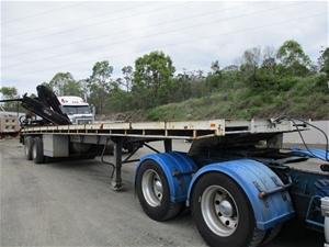 1978 Freighter Fassi Crane 1900 Tandem F