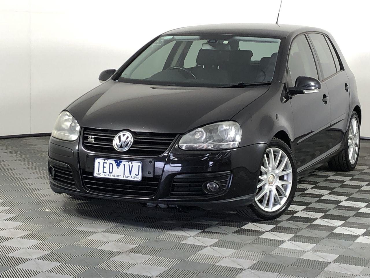 2008 Volkswagen Golf GT SPORT TDI A5 Turbo Diesel Automatic Hatchback