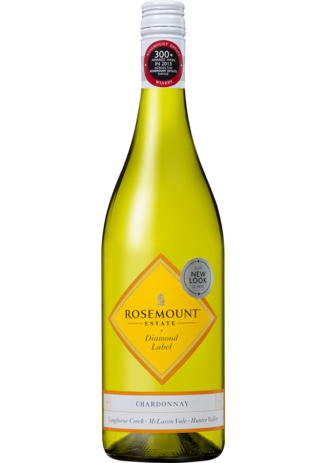 Rosemount Diamond Label Chardonnay 2019 (6x 750mL).TAS.