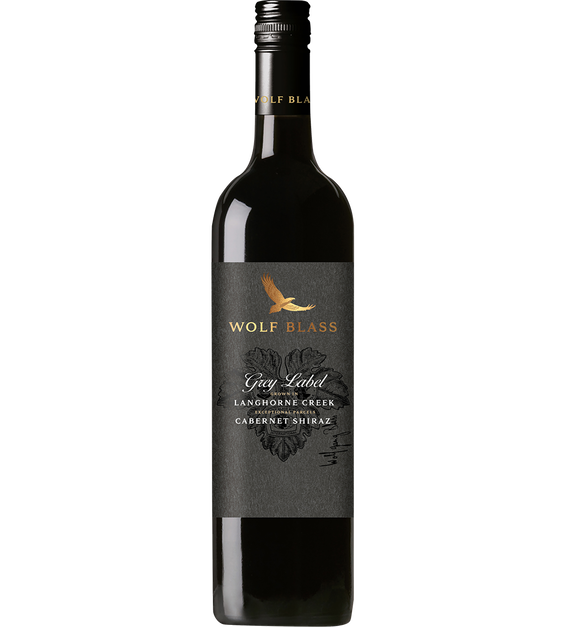 Wolf Blass Grey Label Cabernet Shiraz 2017 (6x 750mL).TAS.