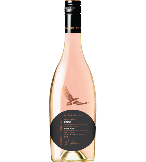 Wolf Blass Makers' Project Reserve Rose 2019 (6x 750mL).TAS.