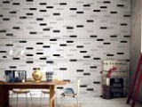 Petti Bella Black Gloss Ceramic Subway Wall Tiles 65x265mm, 96 Boxes, 96m²