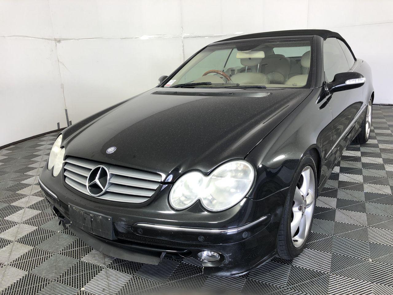 2003 Mercedes Benz CLK320 Avantgarde Auto Convertible, 133,418km
