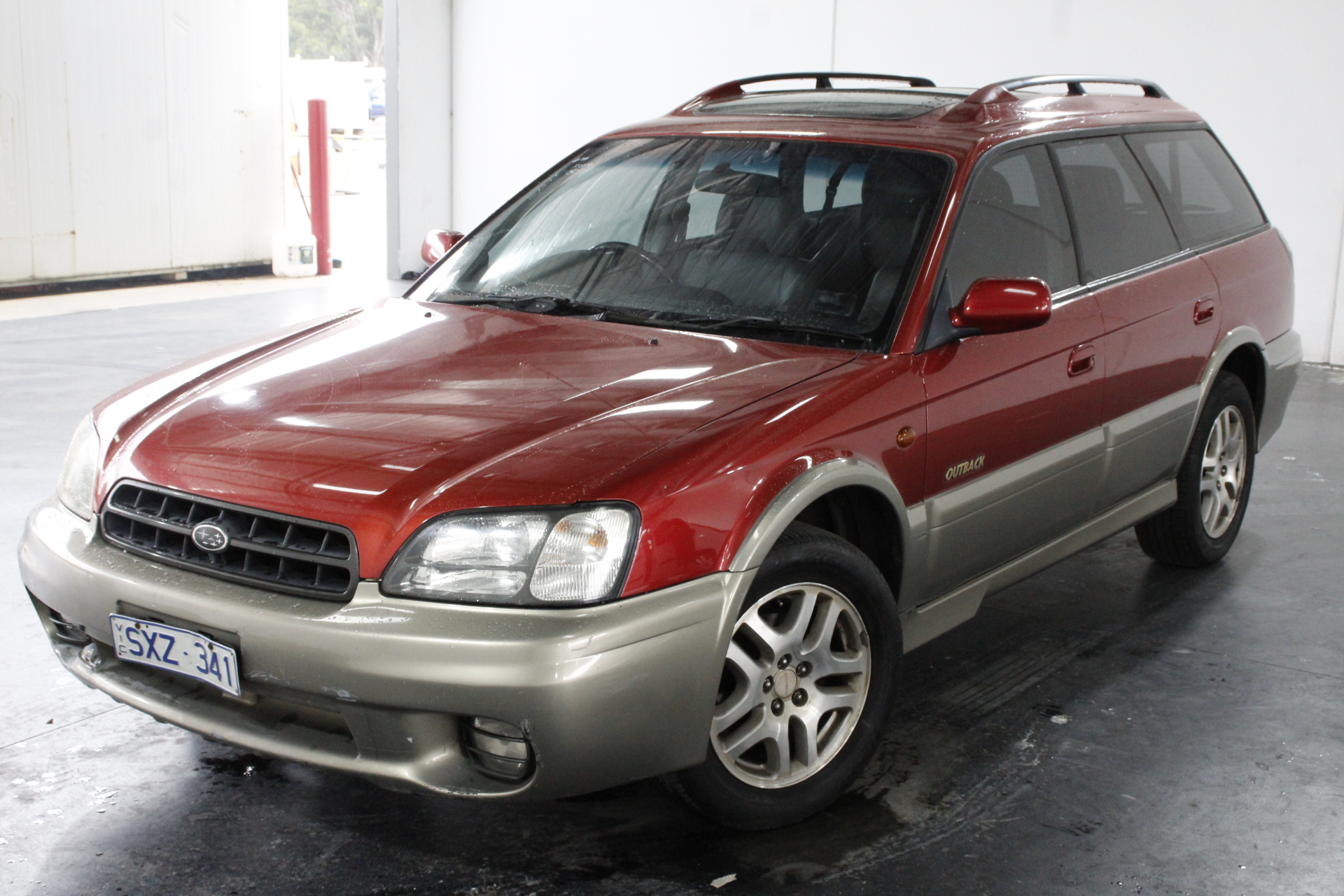 2000 Subaru Outback B3A Manual Wagon
