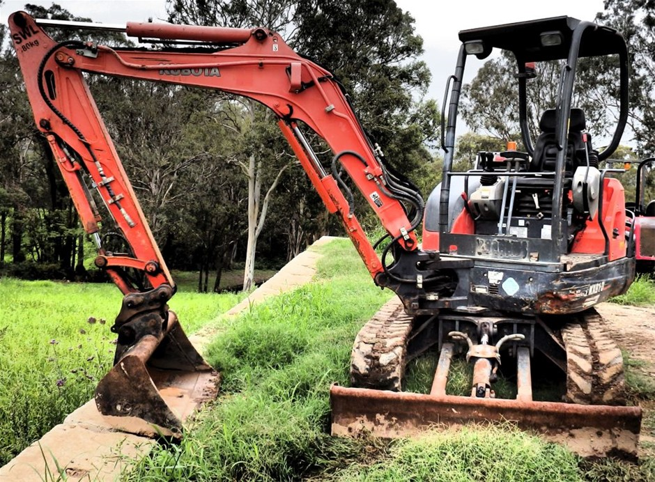 Kubota KX91-3 Super series 2 Excavator,