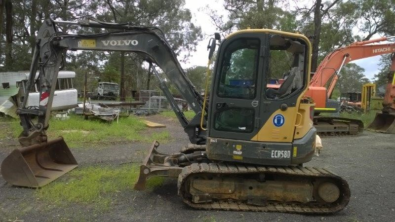 Hydraulic Excavator, Volvo ECR58D