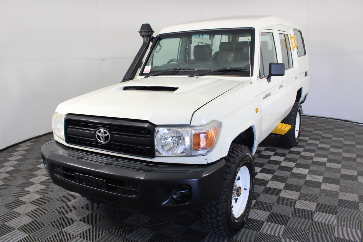 2012 Toyota Landcruiser Workmate VDJ78R Turbo Diesel 8 Seats Wagon