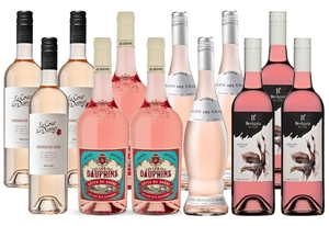 Mixed Rose Pack (12x 750mL)