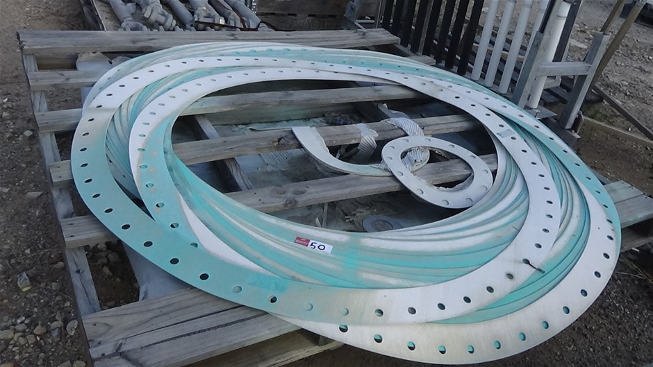 Qty Of Large Flange Gaskets