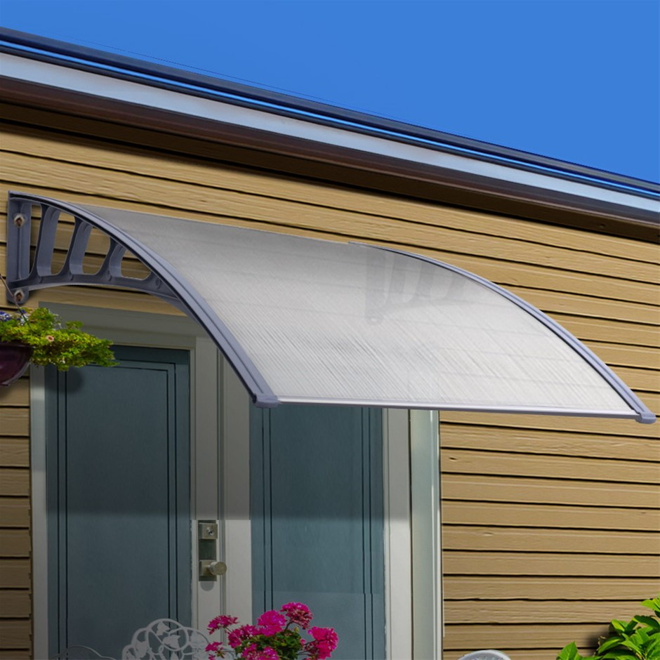 Instahut Window Door Awning Canopy Outdoor Patio Sun Shield 1.5mx4m DIY