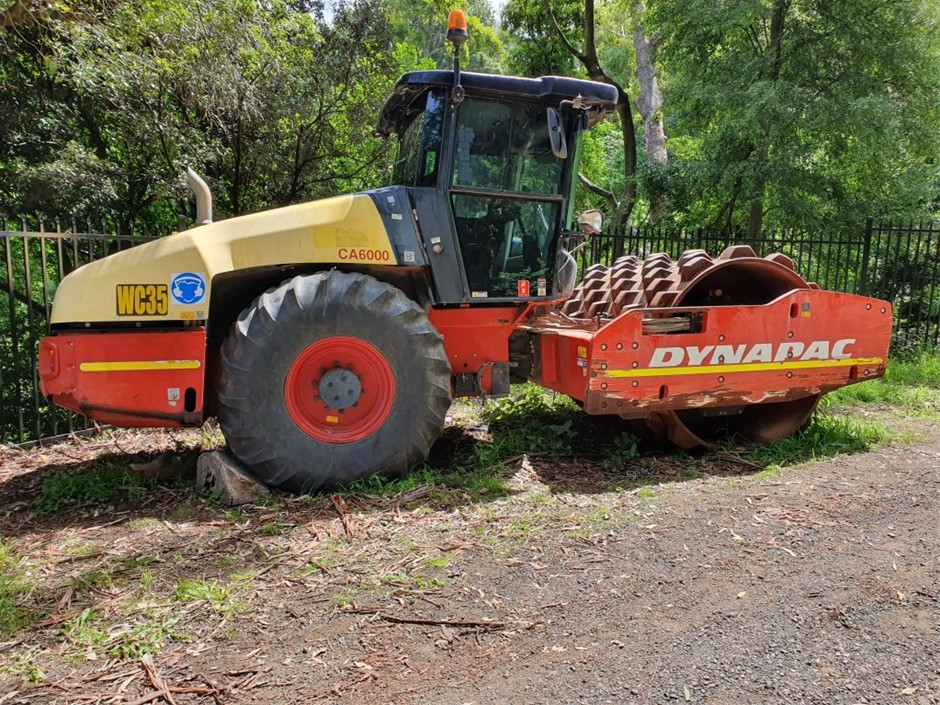 2012 Dynapac CA6000 Padfoot Compaction Roller