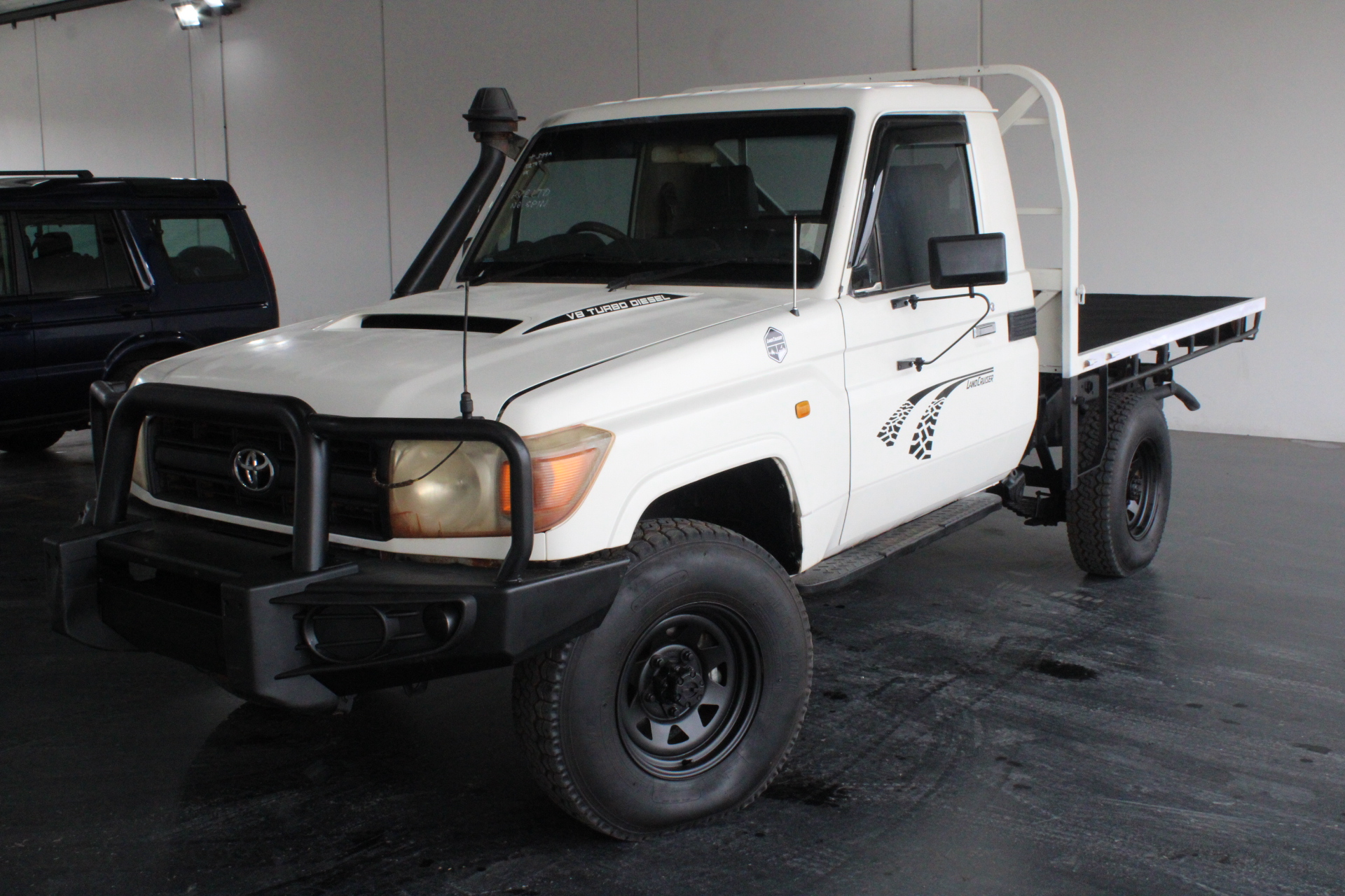 2010 Toyota Landcruiser Workmate 4x4 VDJ79R T/Diesel Man Cab Chassis