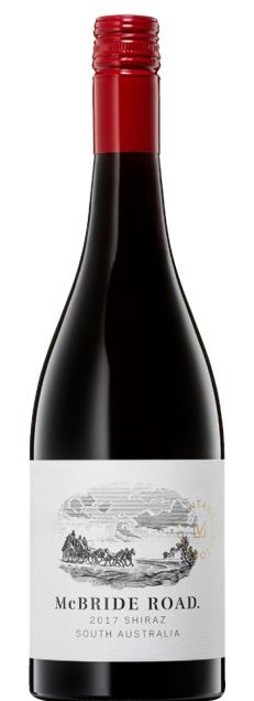 McBride Road Shiraz 2017 (12 x 750mL) SA