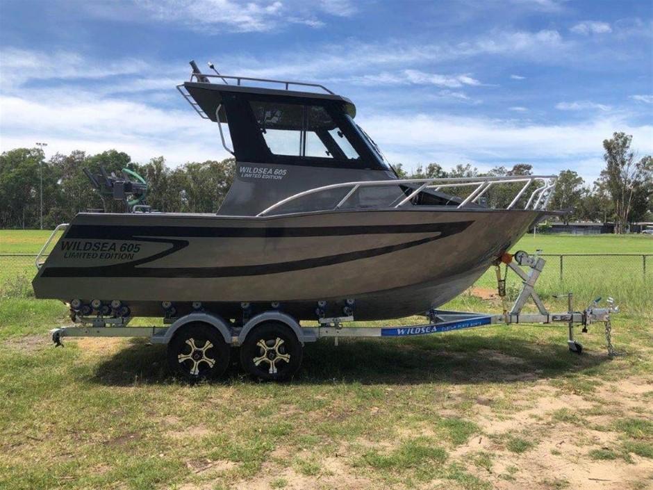 2020 WILDSEA 605 Limited Hard Top Cuddy Cabin Aluminium Custom Plate Boat
